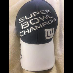 NY GIANTS Super Bowl Champions XLVI Vintage Cap🧢